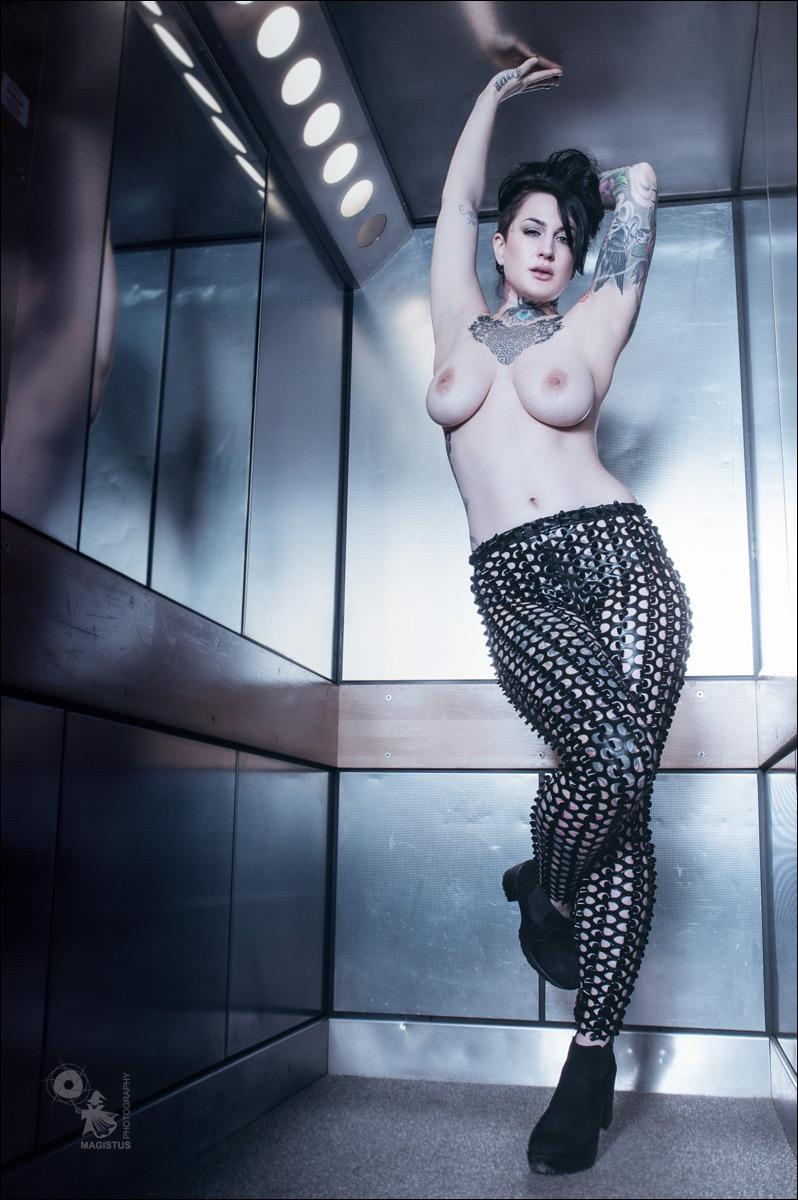 Nude In Elevator 74