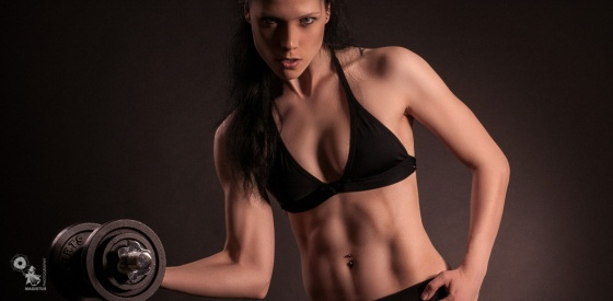 Hard Body - Super hot and tough Fitness Photoshoot with super tight model - © by MagistusFoto