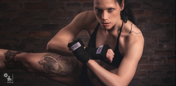 Fighters Kick - Fitness Fighter Photoshoot - © by MagistusFoto
