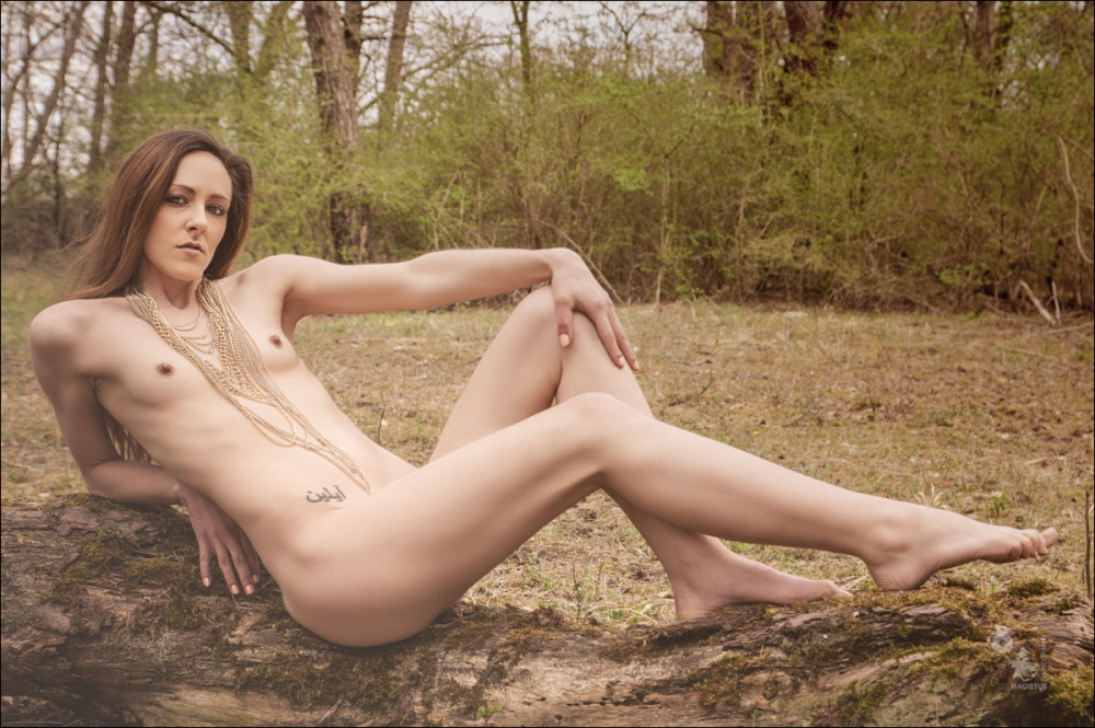 Nude in Nature - Nude Art Photoshoot during a sunny summer day - © by Magistus