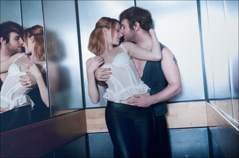 Elevator Heat - Sexy Lingerie Boy-Girl Photoshoot - © by Magistus
