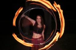 Fire Circle - Artistic Fire Jongalge - by MagistusFoto