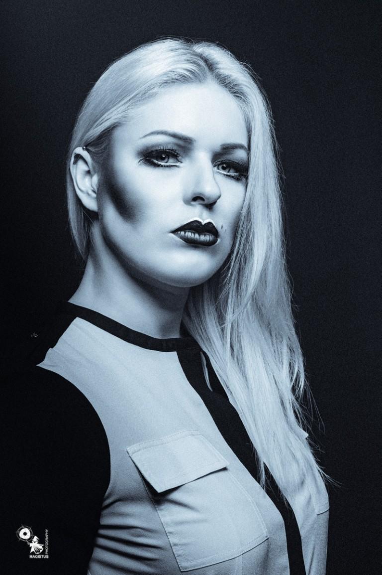 Cold Beauty Portrait - © by Magistus