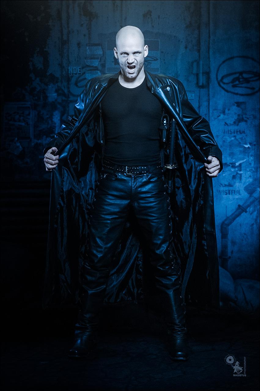 Dark Warrior - Vampire Warrior Composing with male model - © by Magistus