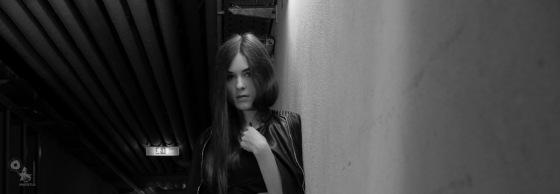 Dark - OnLocation Portrait in Black & White - © by Magistus