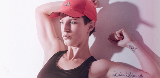 Tough Fitness - Sexy and Sporty Model posing and showing her perfect body - © by Magistus
