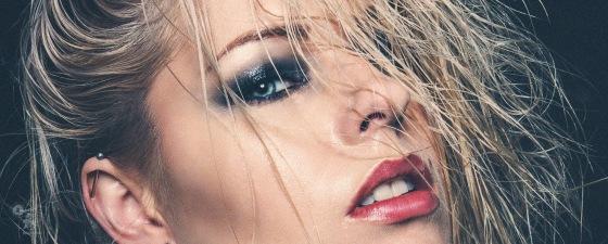 The Vamp - Wetlook Beauty Portrait Closeup of a fantastic model - © by Magistus