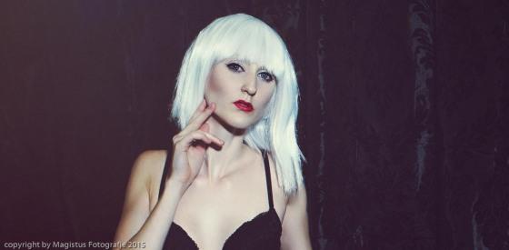 Elegant Lingerie - Beautiful Lingerie Portrait Photo with fantastic model - Copyright by Magistus