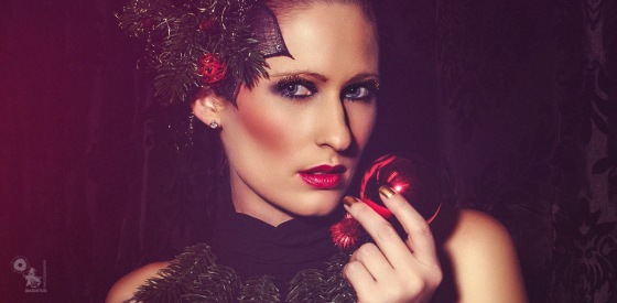 Merry Christmas - Beauty Christmas Portrait with fantastic model Sabrina - © by Magistus