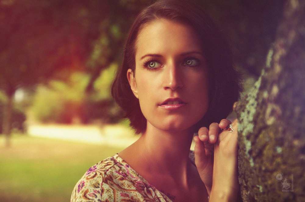 Mimi - Beauty Closeup Portrait in Nature - © by Magistus