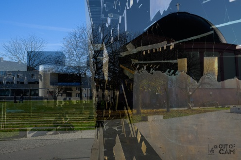 Double Exposure - Georg-Büchner-Platz Darmstadt - Fuji X-T2 (Out-of-Cam) - © by Magistus