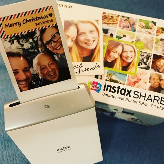 Fujifilm instax SHARE SP-2 - Weihnachtsgeschenk